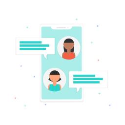Comunicación instantánea en colectivos